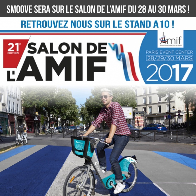 Smoove au salon de l 39 amif 2017 smoove for Salon a porte de la villette